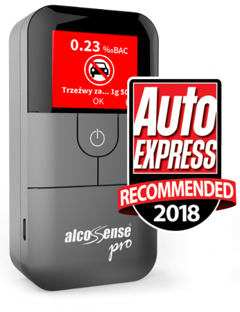 AlcoSense Pro alkomat elektrochemiczny